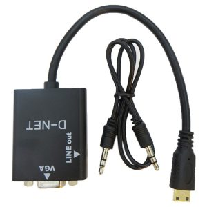 تبدیل HDMI به VGA با خروجی صدا